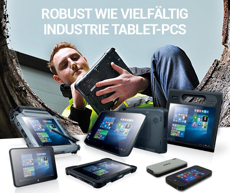 ROBUST WIE VIELFÄLTIG INDUSTRIE TABLET-PCS