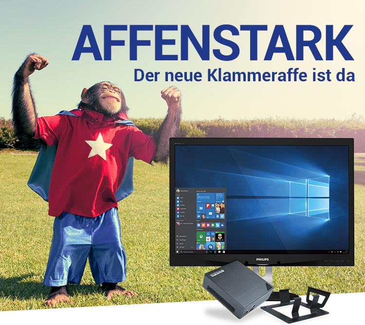 AFFENSTARK - Der neue Klammeraffe ist da