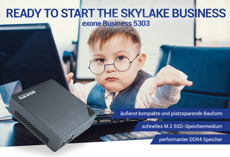 READY TO START THE SKYLAKE BUSINESS - exone Business 5303