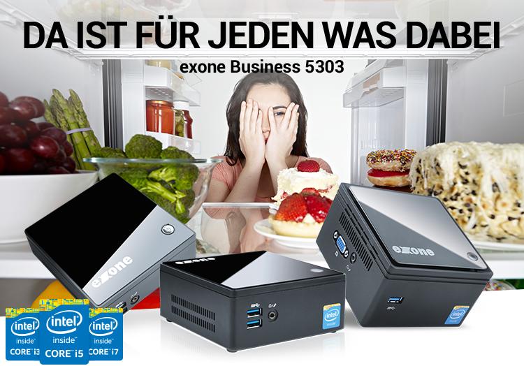 DA IST FÜR JEDEN WAS DABEI - exone Business 5303