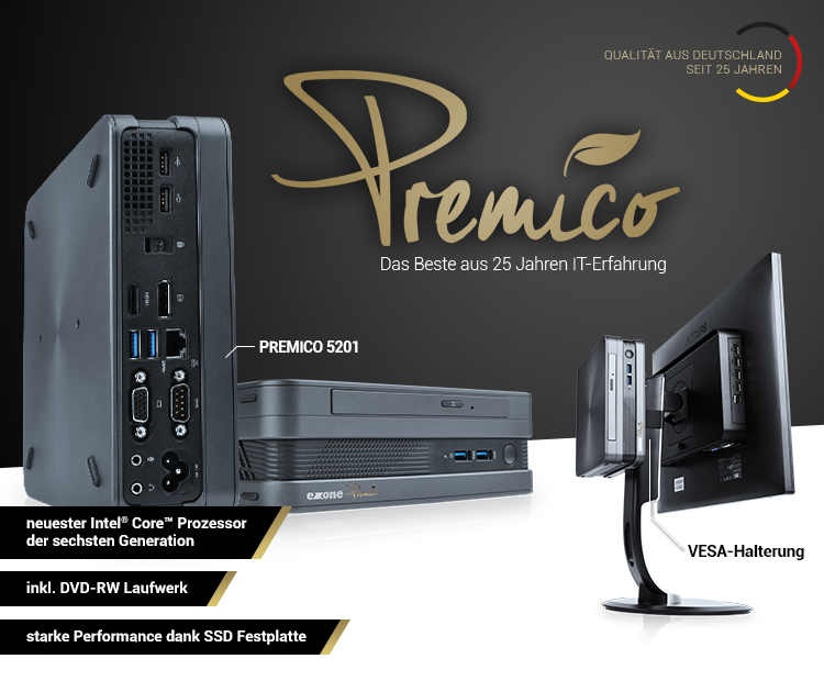 Premico - Das beste aus 25 Jahren IT-Erfahrung